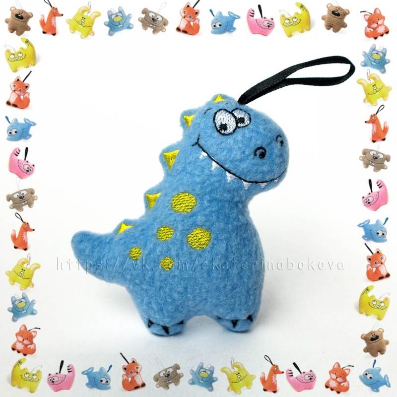 Мягкая игрушка-сувенир Дракончик