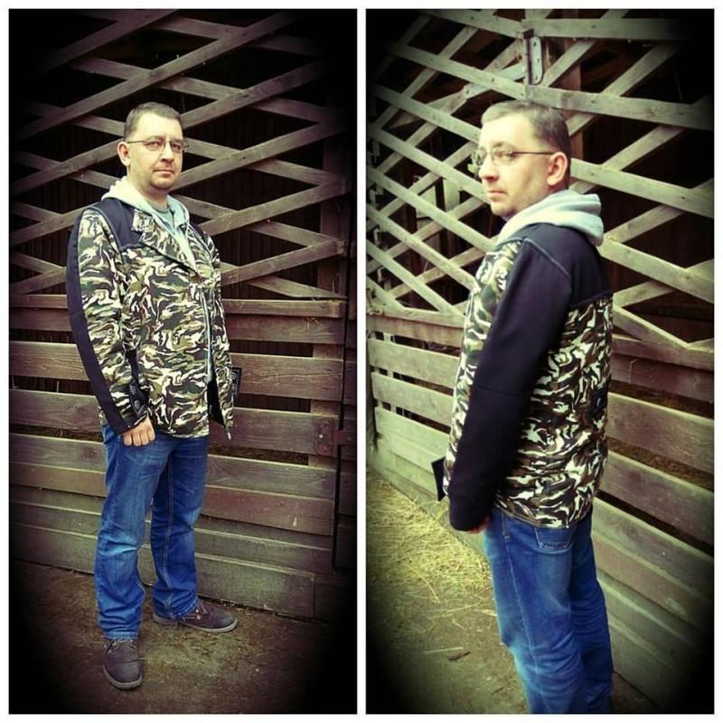 Мужская милитари-куртка