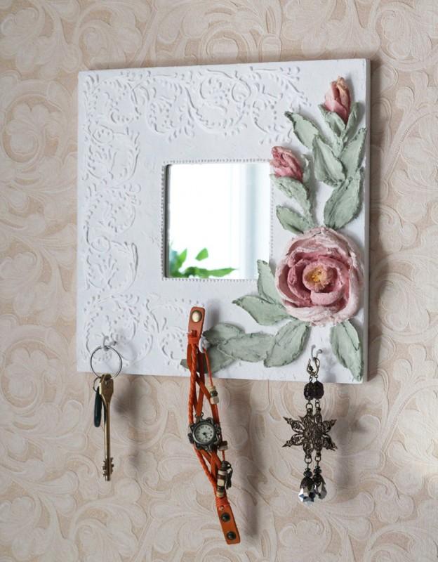 Зеркало Чайная роза