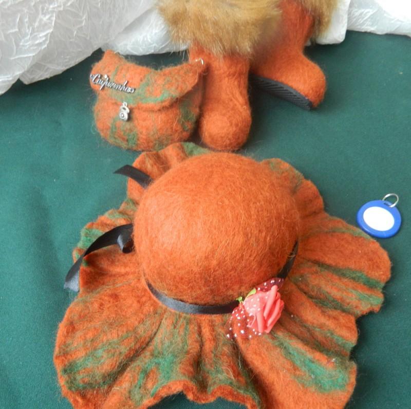 валяный набор для кукол