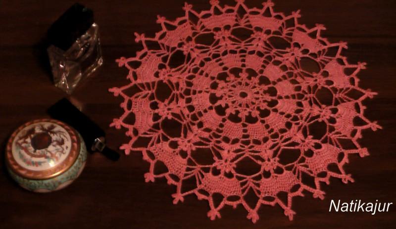 Салфетка Фуксия в цвету