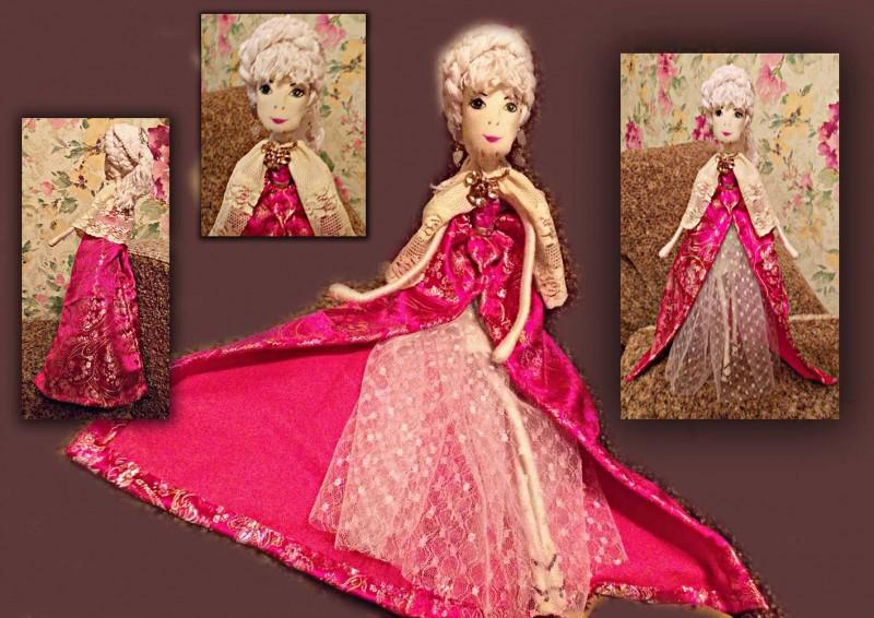 Авторская кукла Баронесса