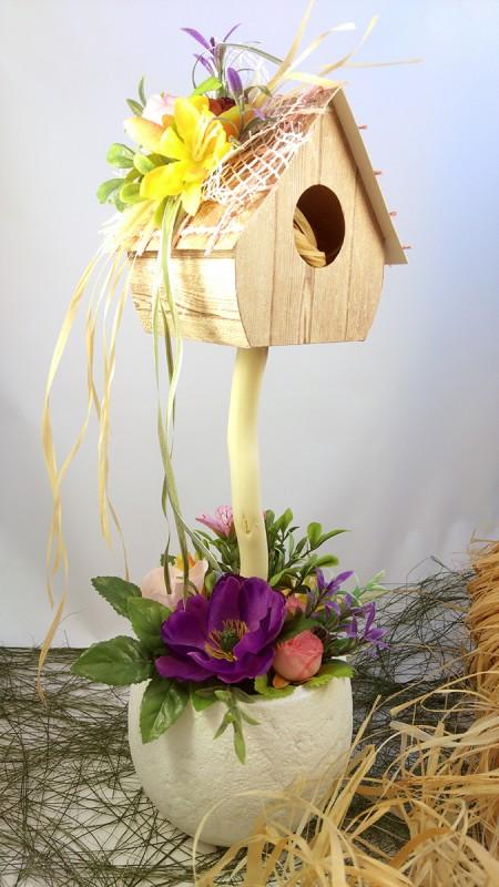 Топиарий Птичий домик
