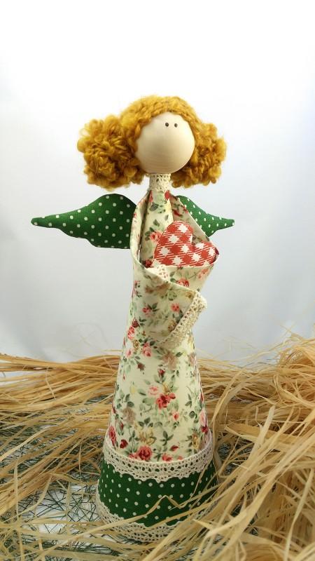 Интерьерная кукла Рыжая феечка