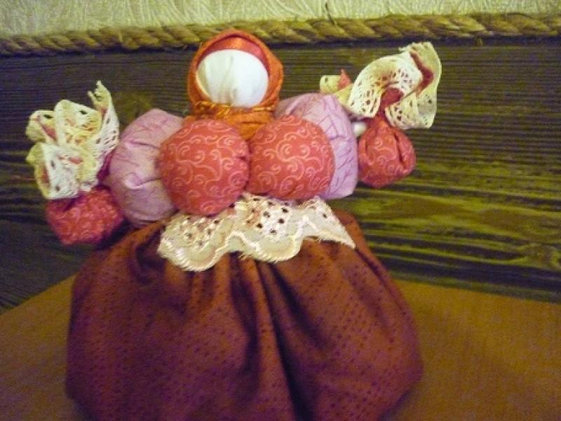 Славянская кукла-оберег Кубышка-травница