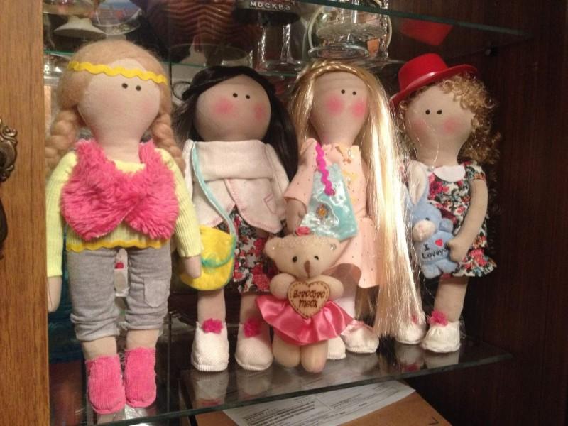 Кукла ручной работы в стиле Тильда