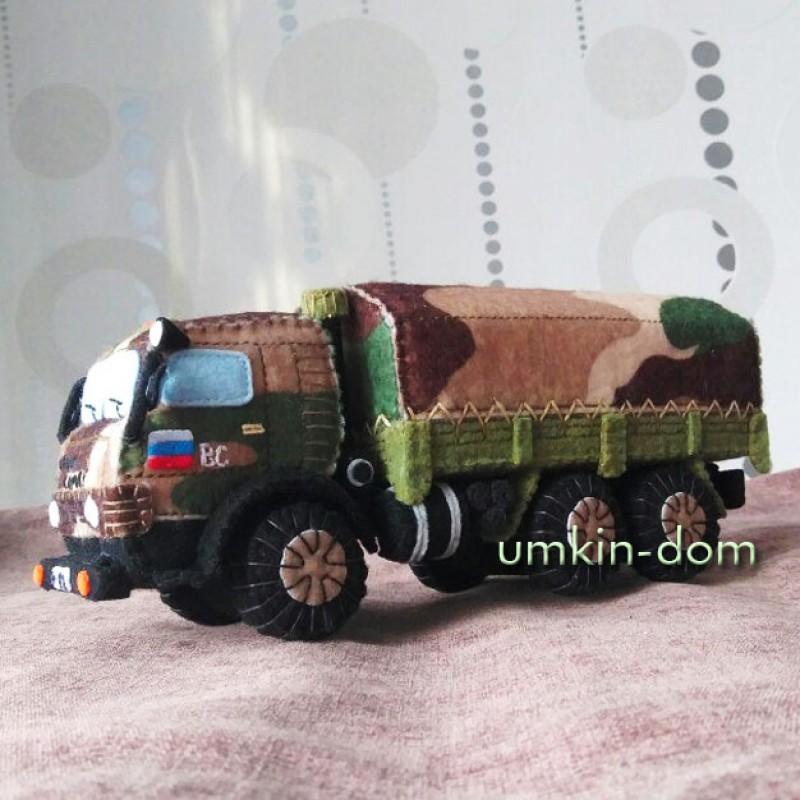 Военный КамАЗ - ВС