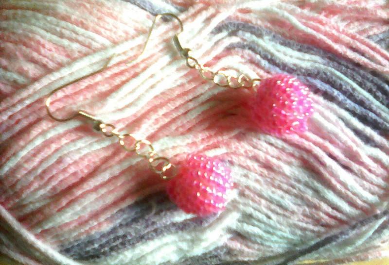Серьги Pink