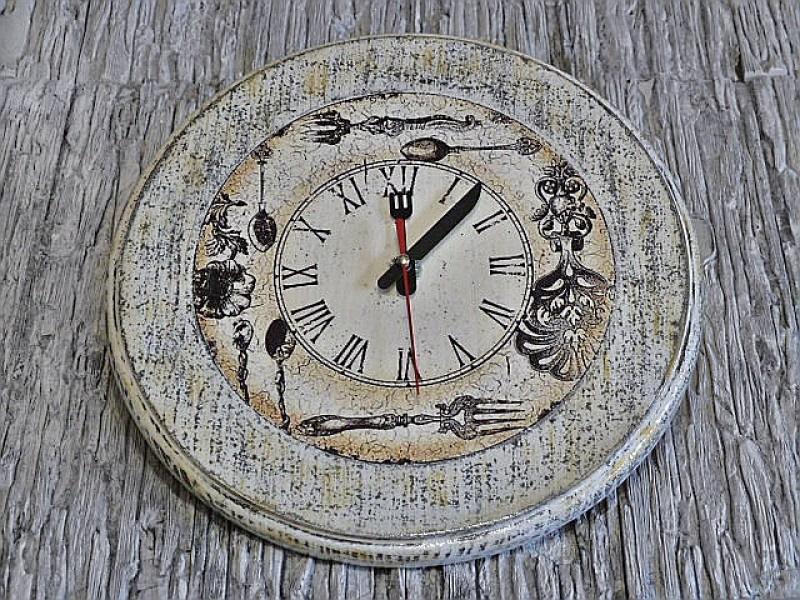 Часы Время обедать