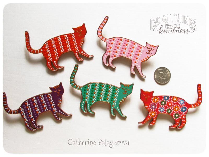 Кошка-брошка