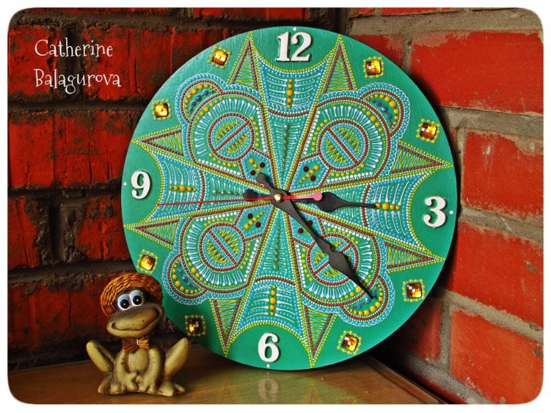 Часы настенные *Лето в Эквадоре*