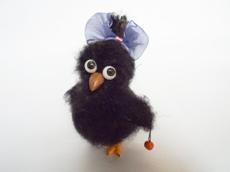 Птичка Лапушка с колокольчиком