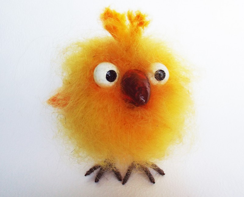 Птичка. Птенчик Апельсинчик