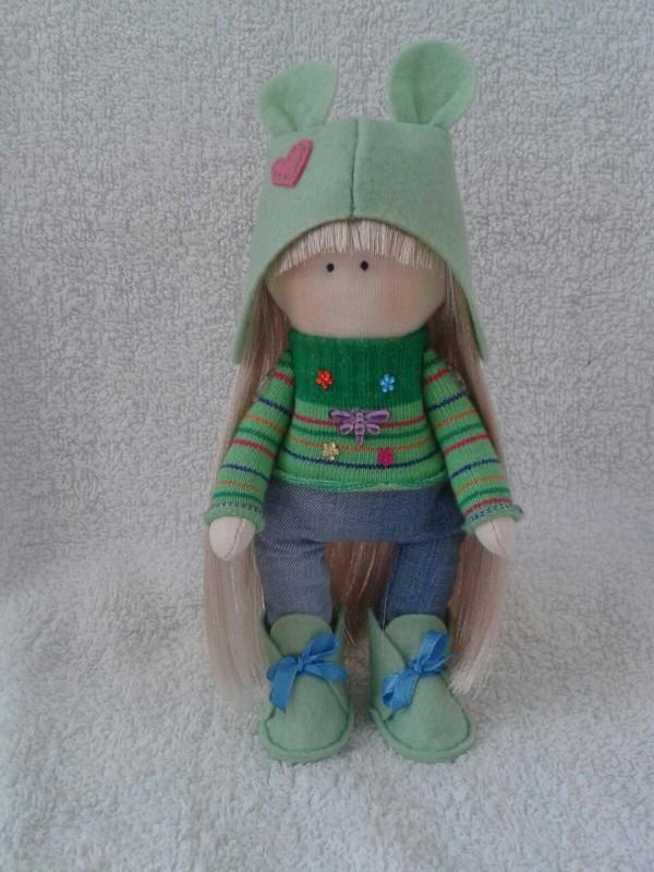 Авторская кукла Марго.