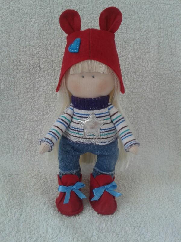 Авторская кукла Настена.