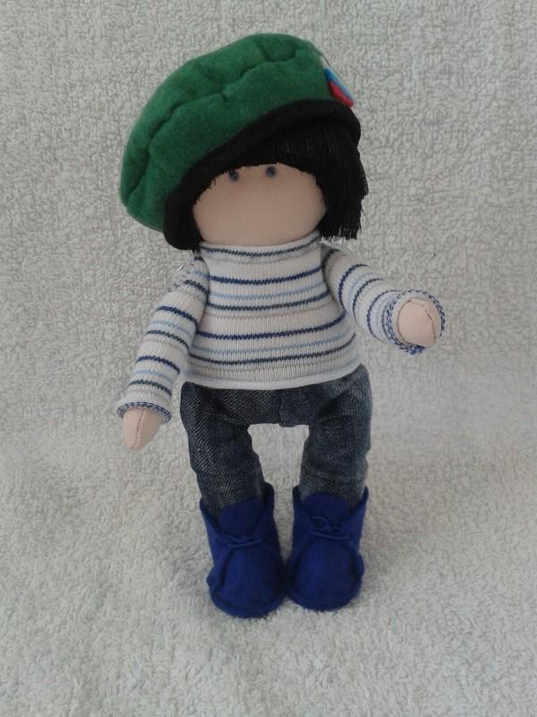 Авторская кукла Вовка.
