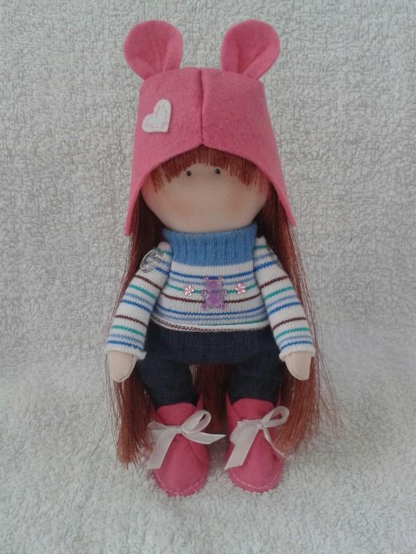 Авторская кукла Аленка.