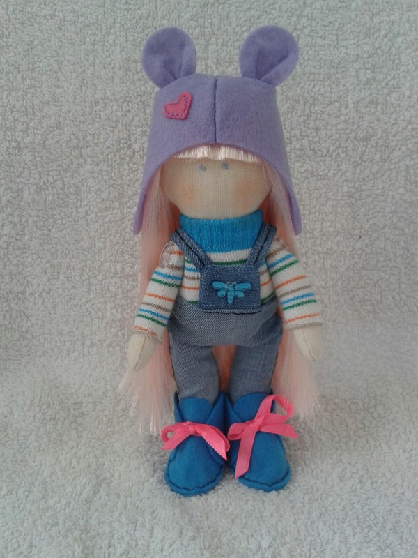 Авторская кукла Виолетта.