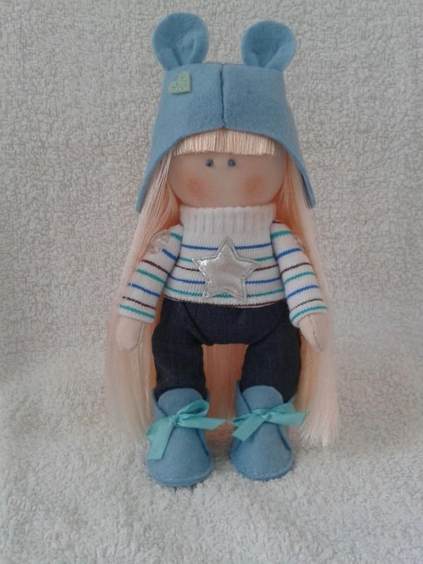 Авторская кукла Соня.