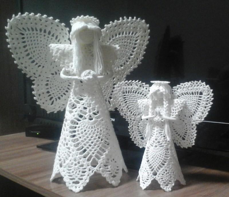 Ангел ажурный