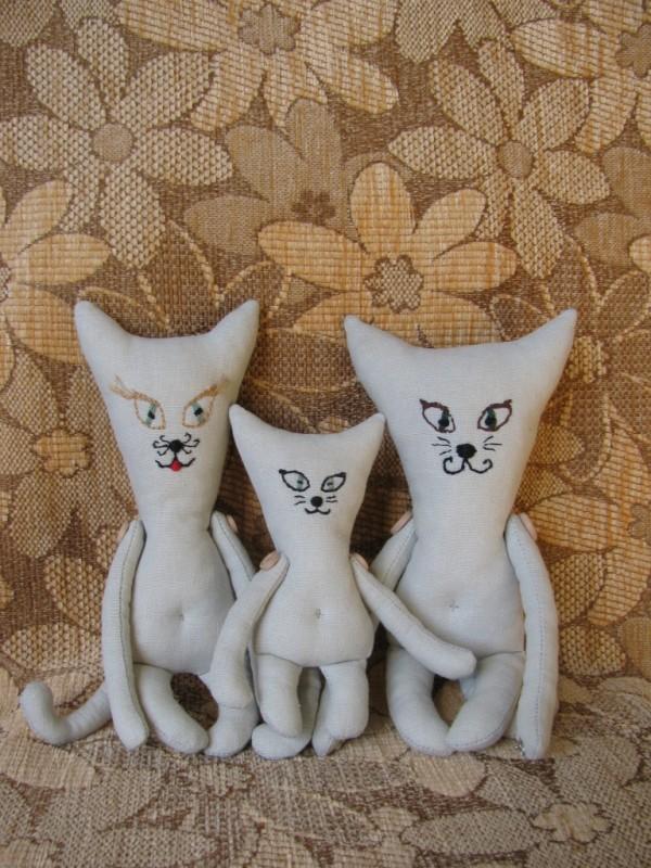 Семейка Котиков: Папа, Мама и Малыш