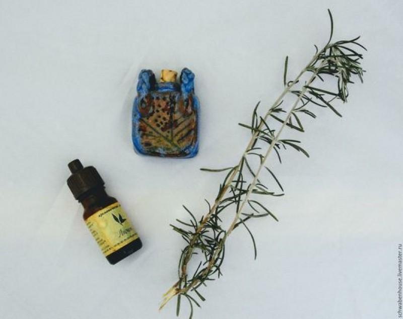 Квадратная амфора для ароматического масла