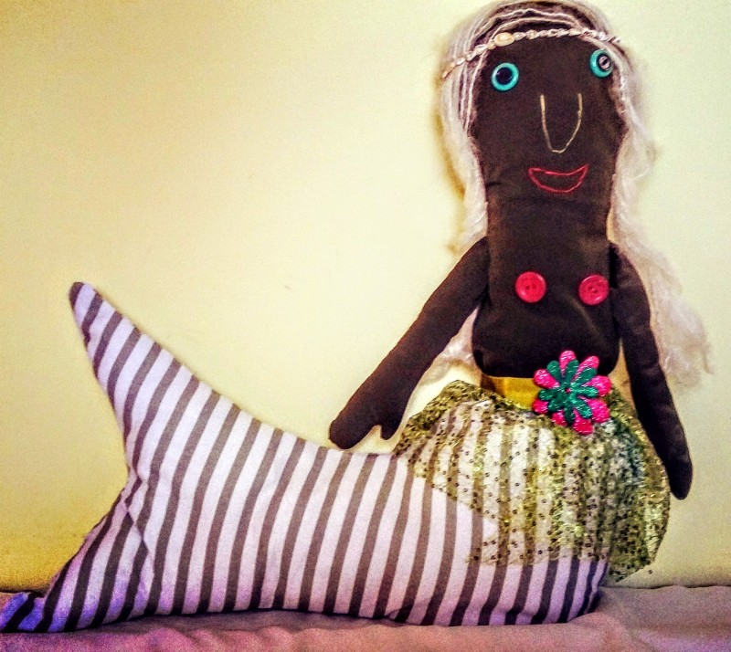 Подушка для детей Русалочка