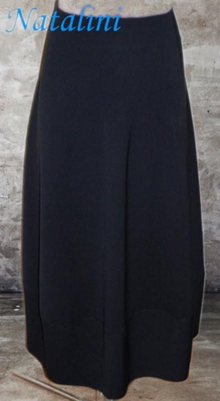 Длинная расклешеная юбка из хлопка в стиле БОХО. Юбка- буль