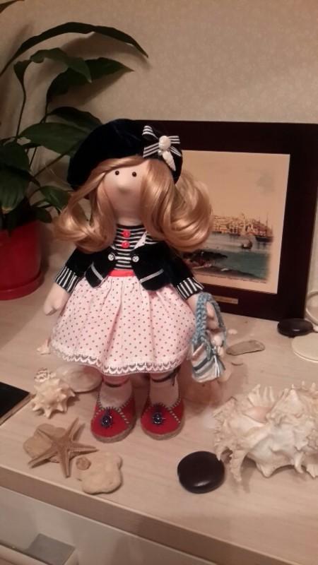 интерьерная куколка Марина