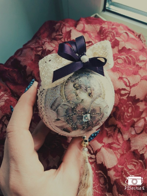 Набор елочных шаров Баронесса