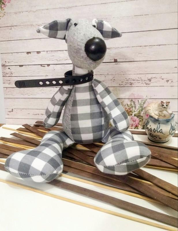 Игрушка текстильная Пес