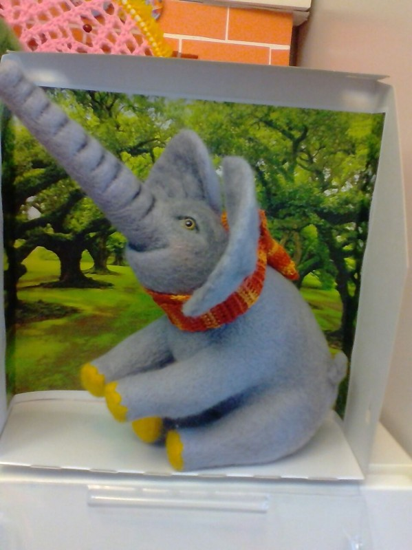 Слон Джумба Держи нос по ветру