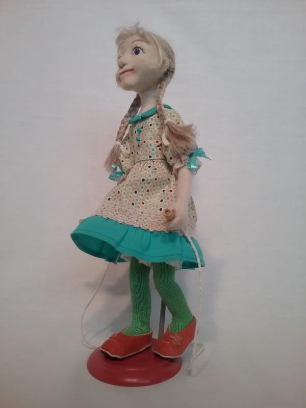 Авторская кукла Девочка со скакалкой