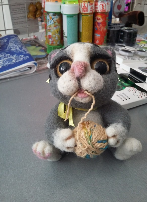 Шаловливый котик
