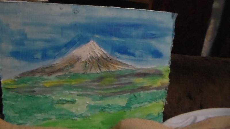декоративное панно Горы