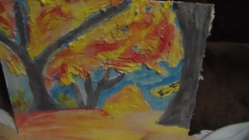 декоративное панно Осень