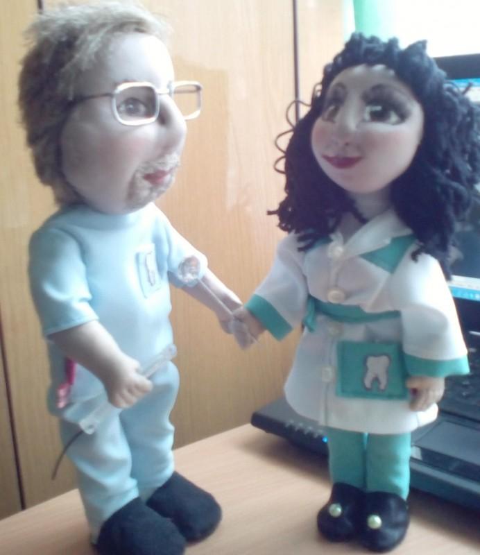 Куклы авторские  Портретные