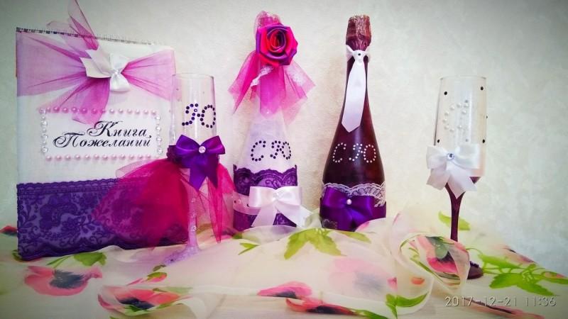 Свадебные мелочи (альбом, свечи, бонбоньерки, приглашения и пр)