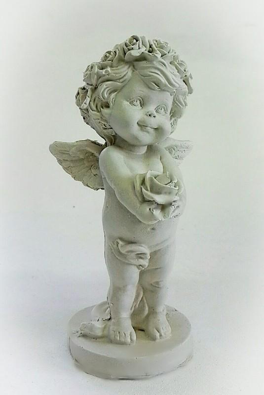 Статуэтка Ангел с розой