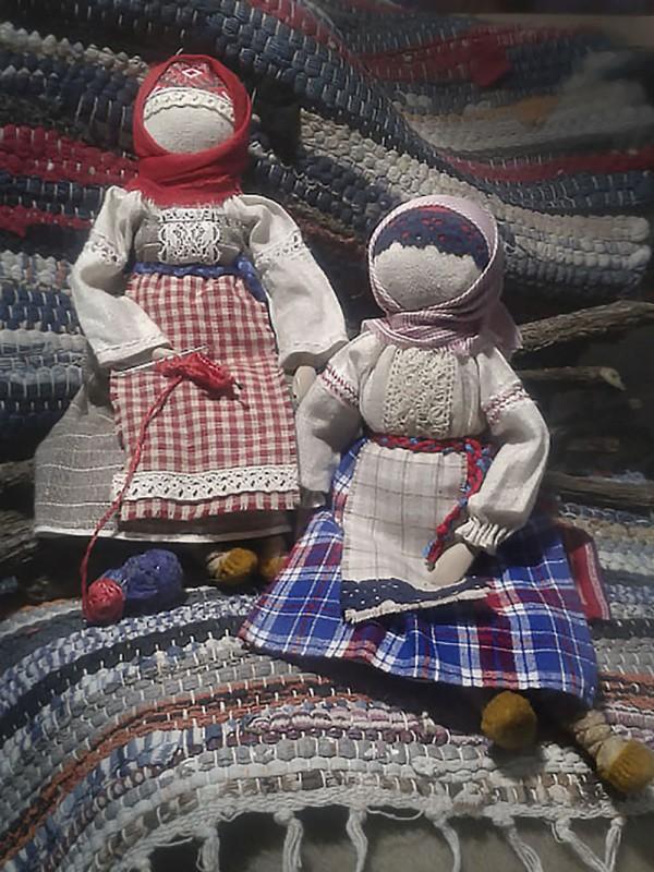 Куклы Пелагея и Марфа