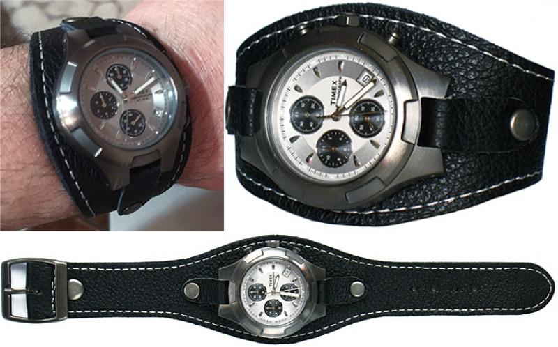 Кожаные браслеты и ремешки для часов.
