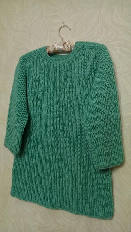 Пуловер женский цвета мяты