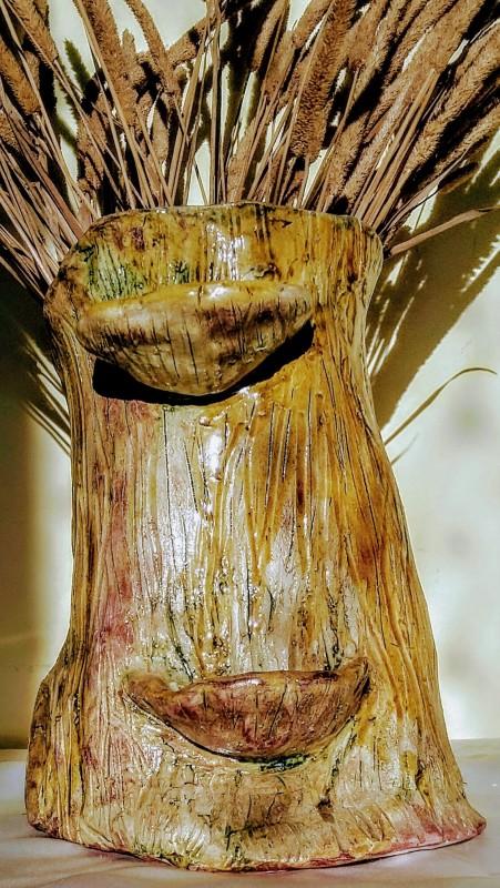 Ваза экзотическое дерево