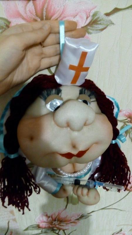 Кукла-попик на удачу!