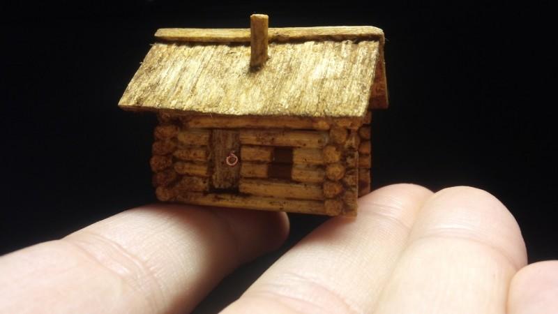 Крохотные домики ручной работы на заказ