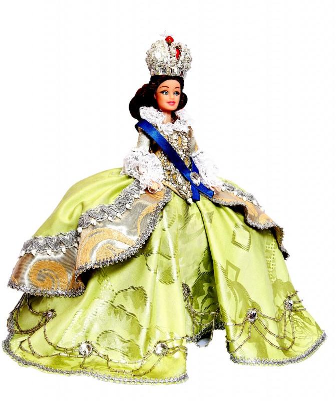 Исторический костюм на кукле Барби РОССИЯ Костюм «Екатерина Великая»