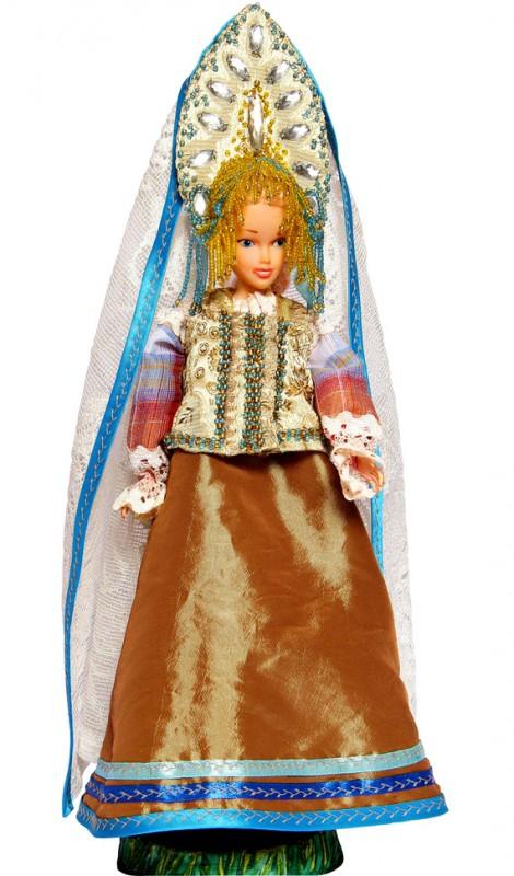 Исторический костюм на кукле Барби РОССИЯ Костюм крестьянки