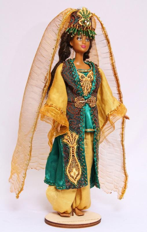 Исторический костюм на кукле Барби ТУРЦИЯ  Османская империя  XVI—XVII век. Костюм госпожи