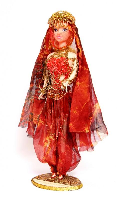 Исторический костюм на кукле Барби ТУРЦИЯ  Османская империя XVI—XVII век. Костюм одалиски