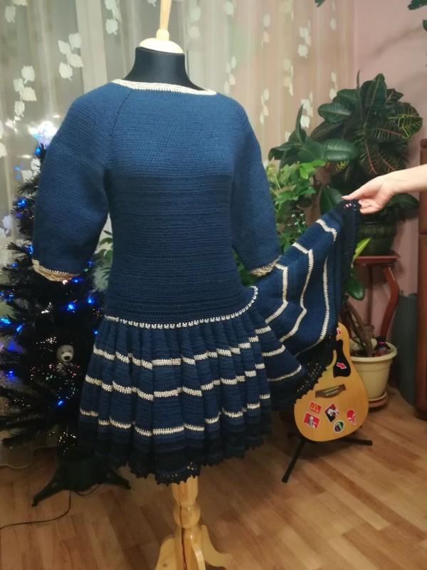 Платье Юбка клеш
